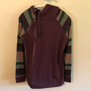 Maurices multicolored hoodie